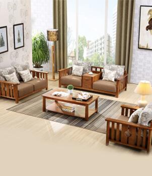 简约现代可拆洗大小户型布艺沙发1+2+3组合
