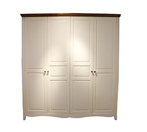 成人大衣柜组合衣橱简约现代4门柜子