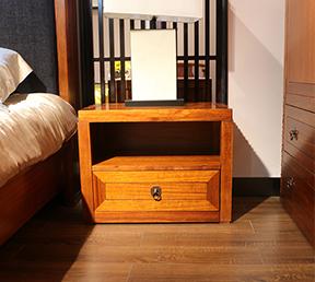 中式风格单抽储物柜 单个床头柜