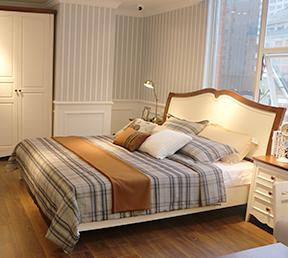 现代单人双人1.8米大床卧室婚床