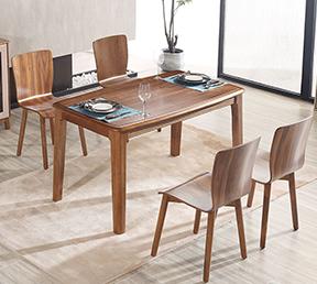 艾尚家 家具 餐桌北欧简约