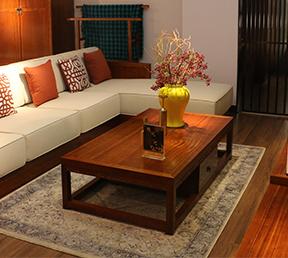 中式风格高档储物收纳茶几客厅储藏长几