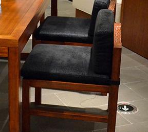 餐厅靠背椅中式风格经典休闲餐椅