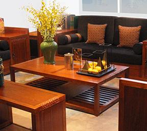 新中式风格客厅家具 茶几