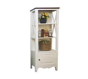 简美风格储物装饰柜客厅收纳边柜