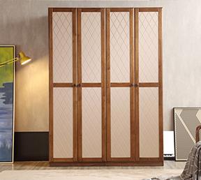卧室家具北欧木质简约百搭 3门衣柜