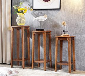 现代简约室内置物架客厅家具落地式花架