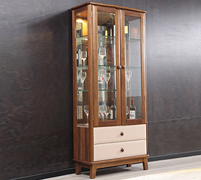 艾尚·家家具 北欧风格储物酒柜