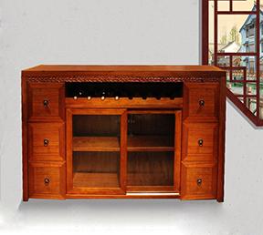 餐边柜 实木新中式风格餐厅家具