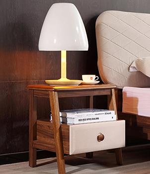 床头柜北欧单抽储物柜 单个床头柜