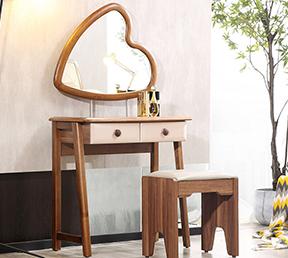 梳妆台妆凳组合时尚简欧 图片色 组合